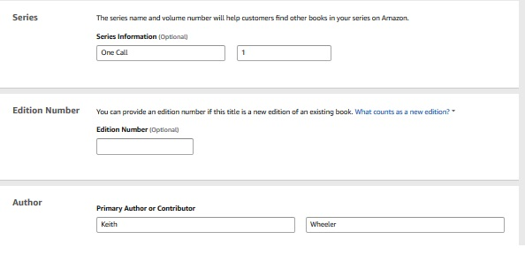amazon kdp tutorial 2018 Archives - Keith Wheeler Books