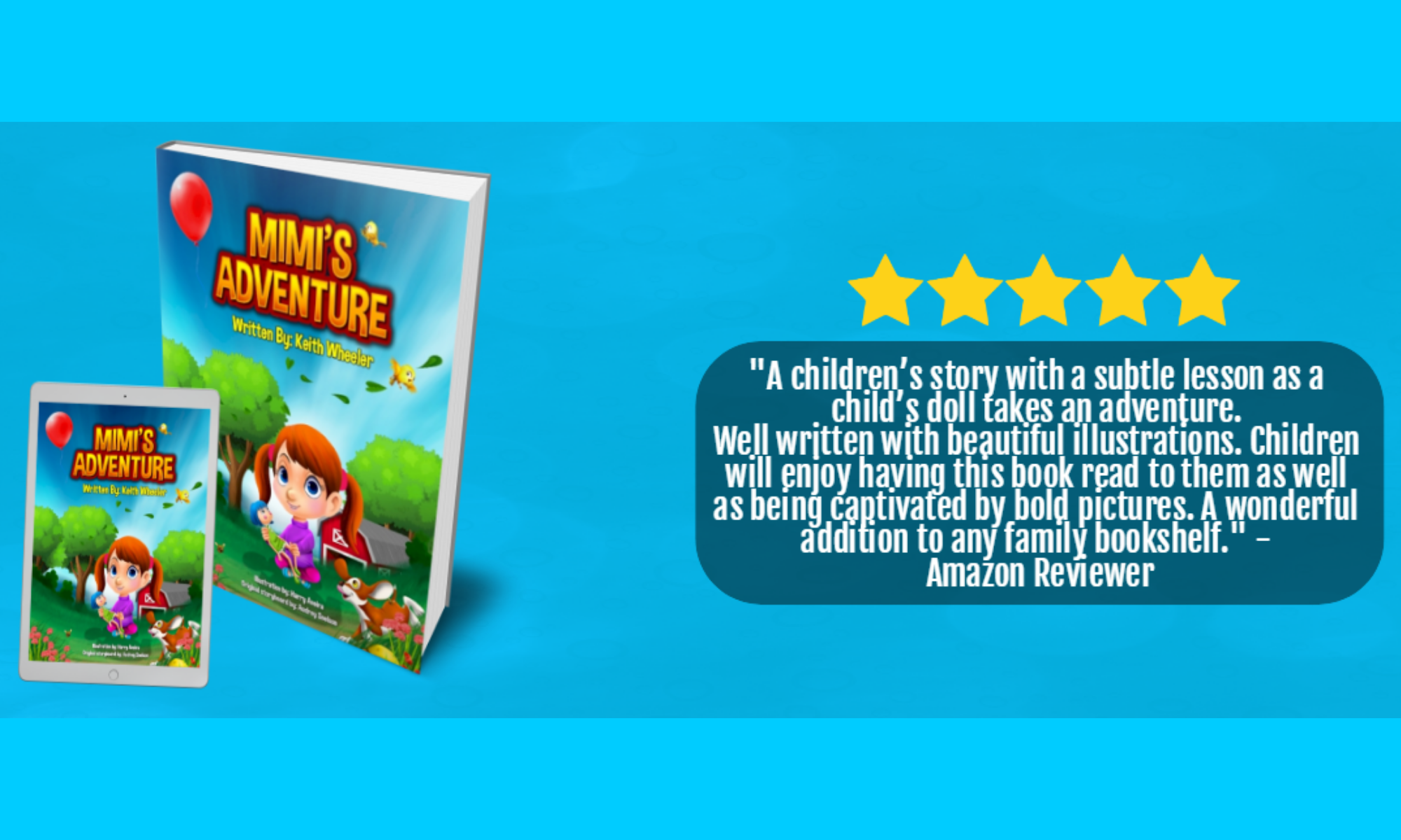 Children's Book Review Header